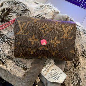 Louis Vuitton Damaged Wallet Hot Pink